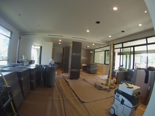 Interior Progress – Cabinets & Appliances